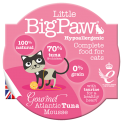 Little BigPaw Gourmet Atlantic Tuna & Chicken Mousse For Cats 8 x 85g