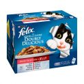 Felix As Good As It Looks Adult Cat Food Doubly Delicious Mixed Selection 12x100g