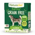 Naturediet Feel Good Grain Free Lamb (18 X 390g) Multipack