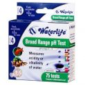 Waterlife PH Broad Range Test Kit 75 Tests