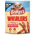 Bakers Whirlers Bacon & Cheese Dog Treats